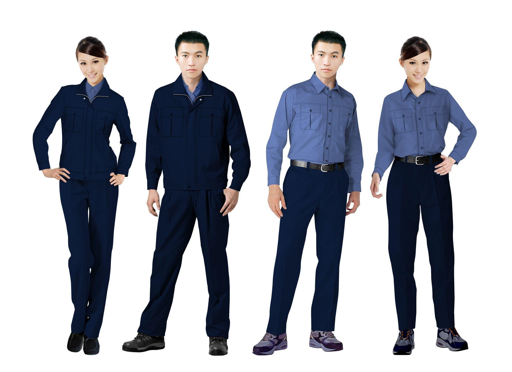工作服设计图系列方案08